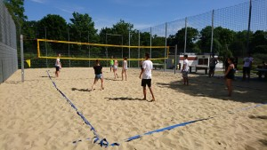 Beachvolleyball Nordbad 1