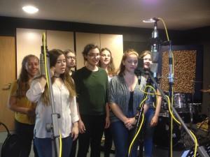 Kammerchor im Studio