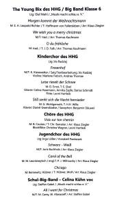Programm WK 2018 2