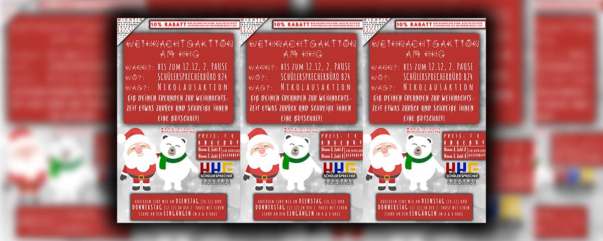 Weihnachtswochen am HHG - Homepage