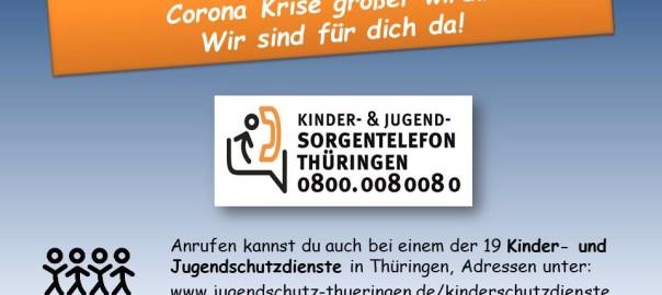 Sorgentelefon Kinderschutz in Zeiten von Corona